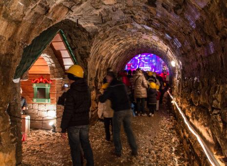 Grotta di Babbo Natale menù speciale